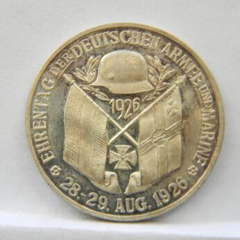 Germany 1926 Army and Navy silver medal