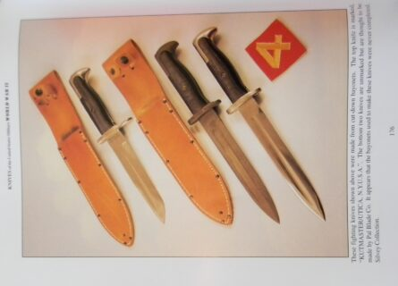WW2 bayonet fighting knives