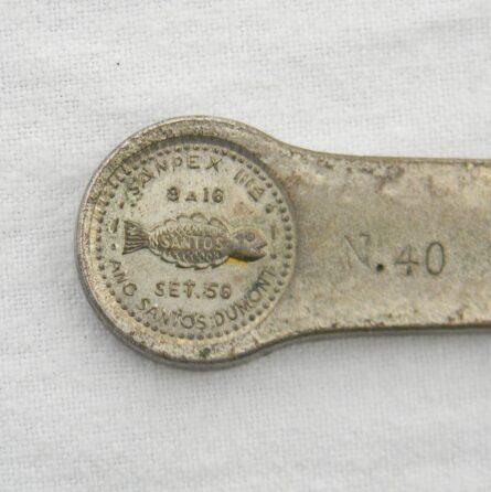 Brazil 1956 Sanpex silver ingot