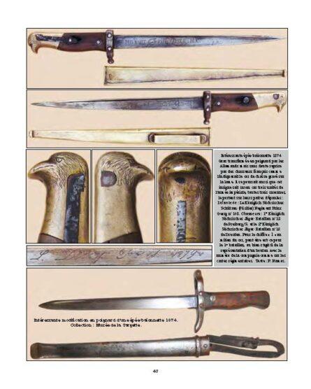 WW1 French Gras bayonet fighting dagger