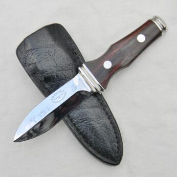 AG Russell 1977 Sting boot knife black