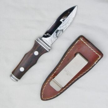 AG Russell 1977 Sting boot knife brown