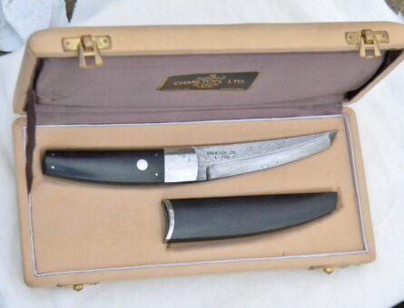 Charlton damascus tanto knife