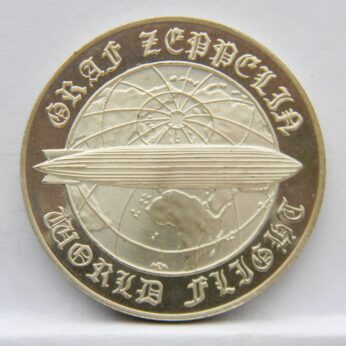 Germany airship Graf Zeppelin 1979 silver medal