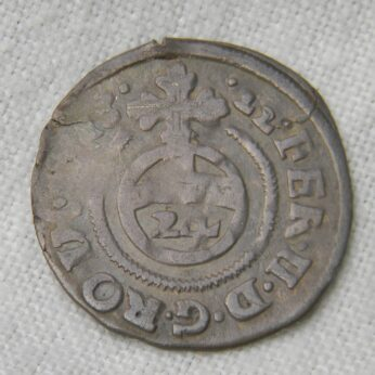 Anhalt 1622 silver Kippergroschen 1/24 Taler