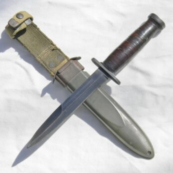 WW2 CASE straight guard M3 fighting knife
