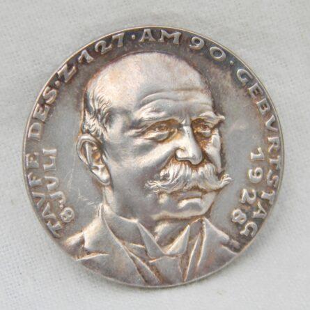 Germany Karl Goetz 1928 Graf Zeppelin silver medal