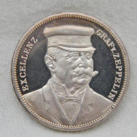 Germany 1908 airship silver medal
