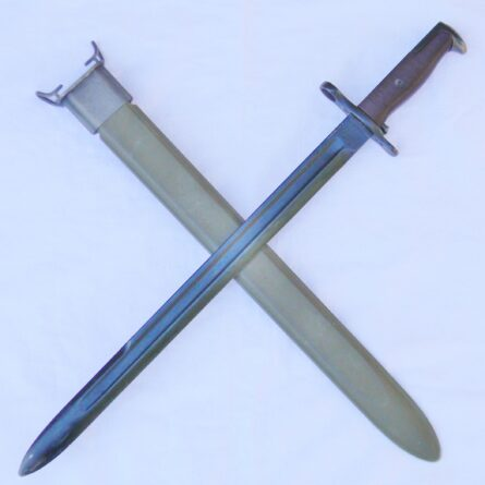 WW2 SA M1905 bayonet dated 1909