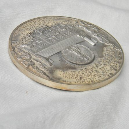 USA Columbus America Discovery silver medal