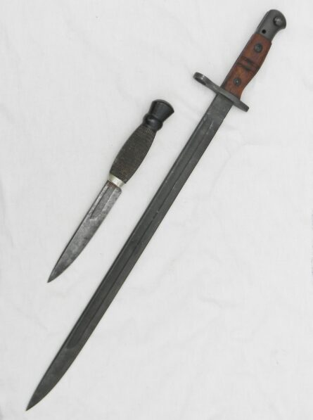 WW2 converted bayonet British fighting knife