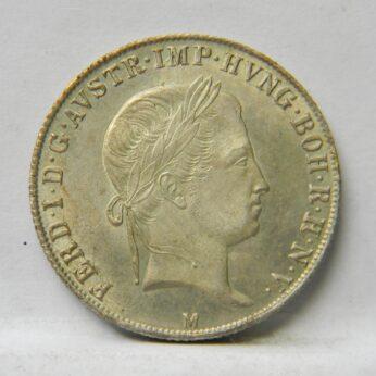 Austria 1844M silver 20 Kreuzer
