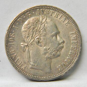Austria 1878 silver Florin