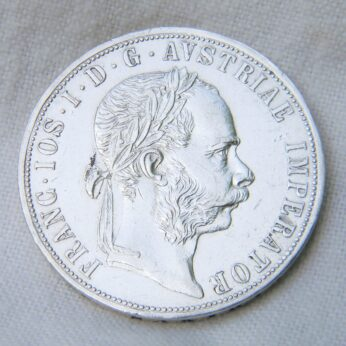 Austria 1879 silver 2 Florin