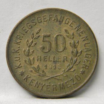 Austria-Hungary 1915 20 Heller-20 Filler Lagergeld POW token