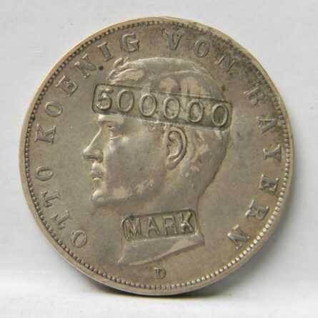 Germany silver 500000 Mark counter-strike