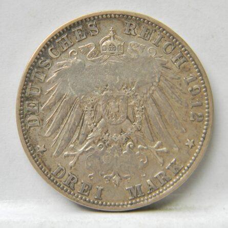 Rare Germany silver 500000 Mark counter-strike