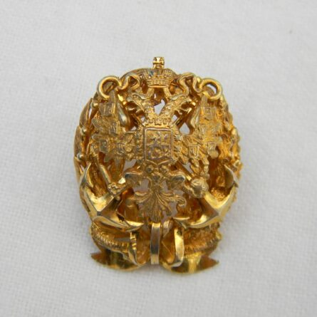 Russia Nicholaevsky Naval Academy badge
