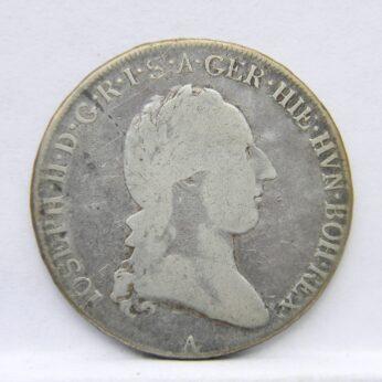 Austria 1788A silver Austrian Netherlands 1/2 Kronenthaler
