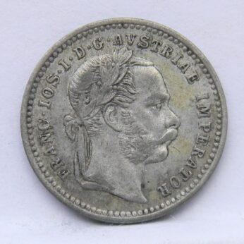Austria 1872 silver 10 Kreuzer