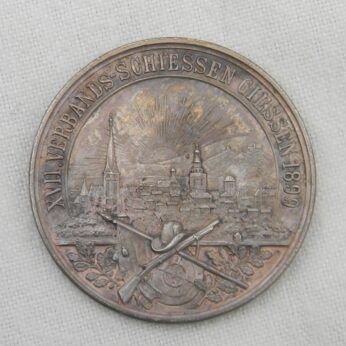Germany Hesse-Darmstadt 1899 silver shooting medal
