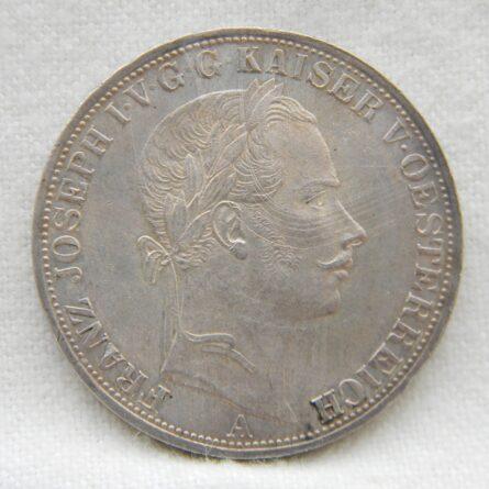 Austria 1857A silver Thaler