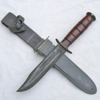 WW2 Ka-Bar MK2 Fighting Knife