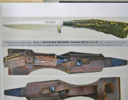 WW1 42er Deutscher Brummer dagger