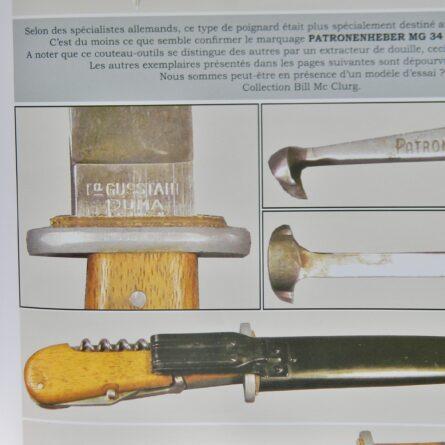 WW2 Puma MG34 knife