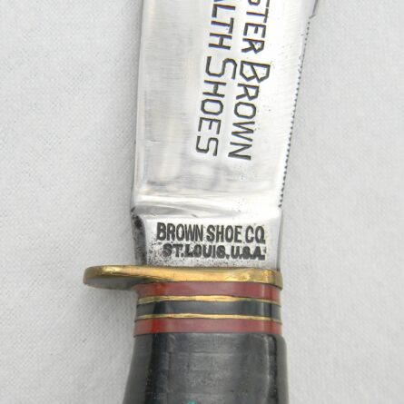 MARBLES Buster Brown Health Shoes Woodcraft knife