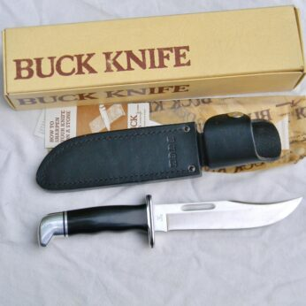Vintage BUCK 119 Special hunting knife