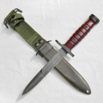 Korean War era Dutch M4 bayonet