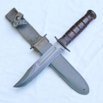 WW2 Ka-Bar USN MK2 fighting knife