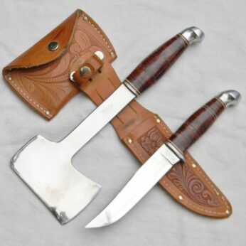 Kinfolks USA model 965 Hatchet-Knife set