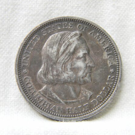 USA 1892 silver Columbus Half Dollar