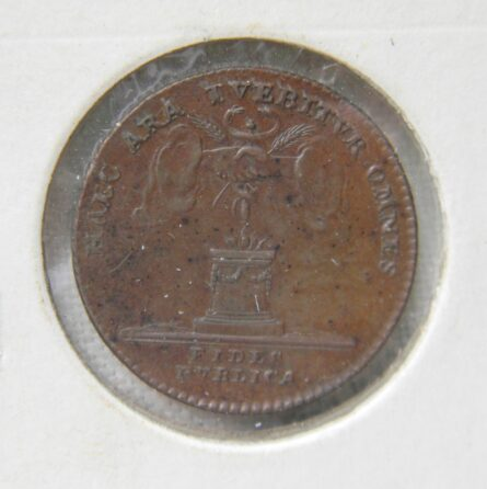Austrian Netherlands 1792 Inauguration token