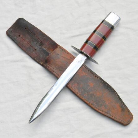 American WW2 theater-made fighting knife