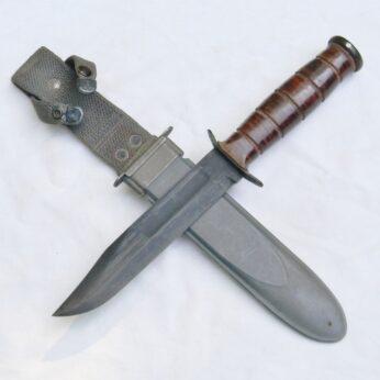 WW2 Ka-Bar USN MK2 fighting knife