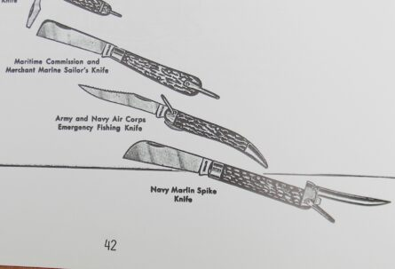 WW2 CAMILLUS Merchant Marine knife