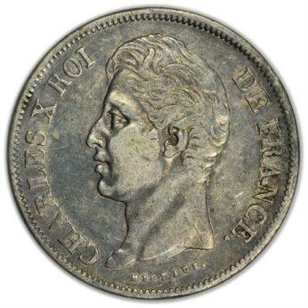 France 1829A silver 5 Francs
