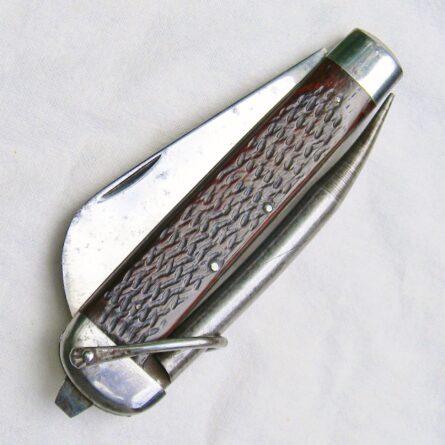 WW2 era Camillus USN M7085 marlin spike knife