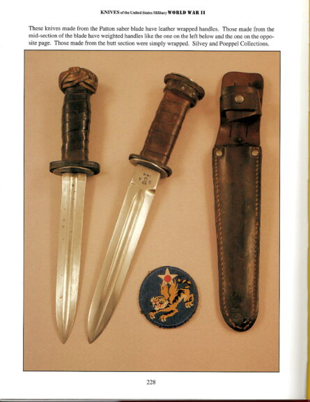 Patton Sword fighter, leather-wrapped handle type