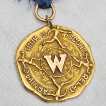 Wisconsin University 1926 sports gold medal