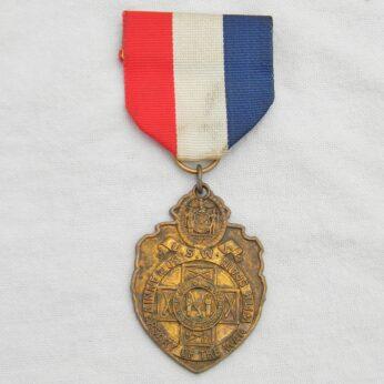 Spanish-American War 50th Anniversary veterans badge