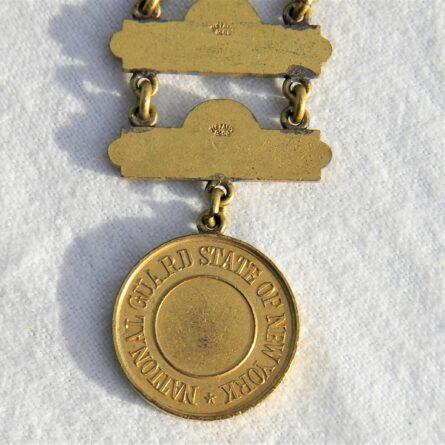 Indian Wars New York National Guard Marksman badge