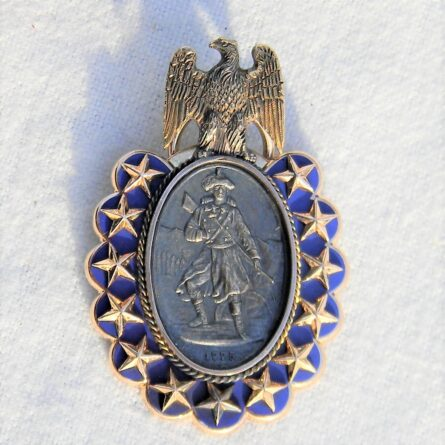 Sons of the Revolution gold badge