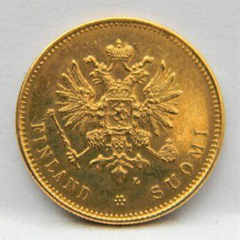 Finland 1903L gold 20 Markkaa