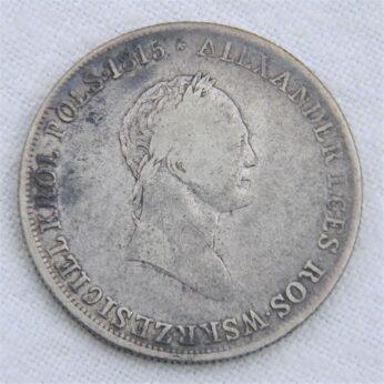 Poland 1829 silver 5 Zlotych