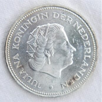 Netherlands 1970 silver 10 Gulden