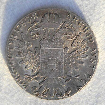 Austria Maria Theresa silver 1780 SF-X Trading Thaler